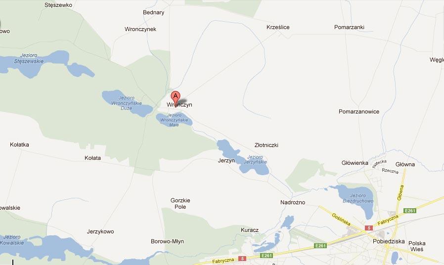 mapa-dojazdu-do-Stanicz-we-Wronczynie
